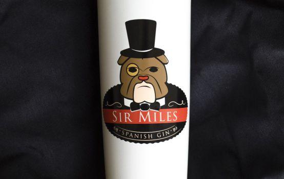 Comprar online Caja de 6 botellas Ginebra Sir Miles Gin