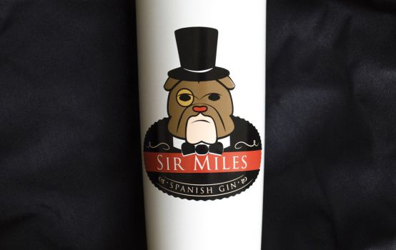 Box of 6 bottles Gin Sir Miles Gin